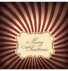 Christmas sunrays background vector