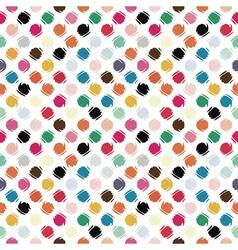 Refracted polka dot vector