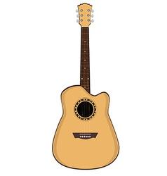 Brow guitar vector