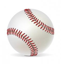 Baseball ball vector