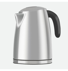 Electric kettle on a white background vector