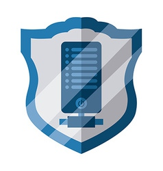 Data security vdesign vector