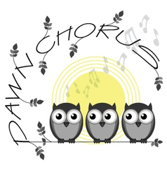 Dawn chorus vector