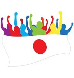 Japan fans vector