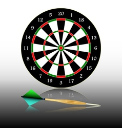Dartboard games play vector