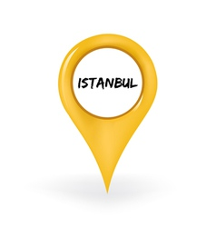Location istanbul vector