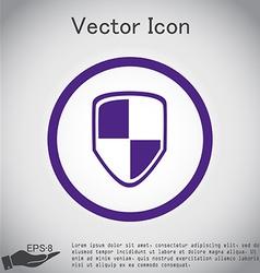 Protect shield icon vector