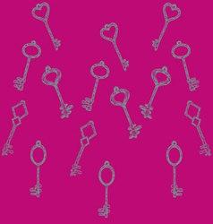 Pattern keys vector