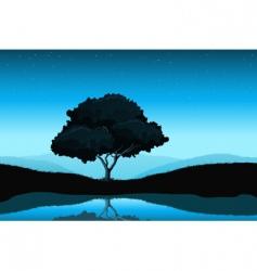 Amazing landscape vector