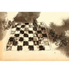 The worlds great chess games karpov - topalov vector