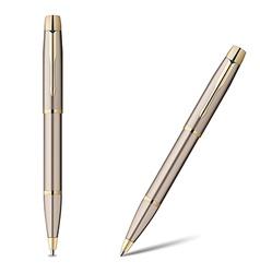 Ballpoint pen isolated on white vector