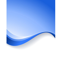 Wave background template vector