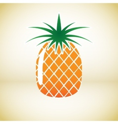Pineapple symbol vector