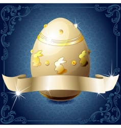 Chocolate egg vector