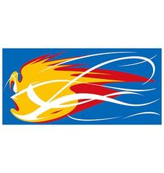 Fireball mascot vector