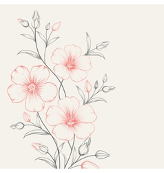 Linum pattern vector