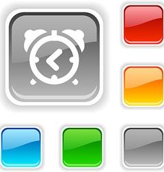 Alarm-clock button vector