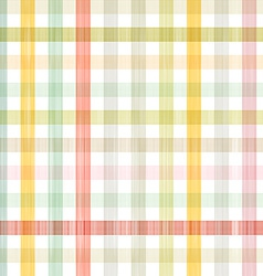 Retro square tablecloth seamless pattern vector