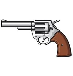 Handgun-pistol vector