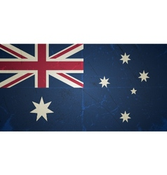 Grunge flags - australia vector