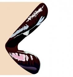 Lips vector