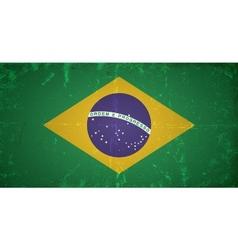 Grunge flags - brazil vector