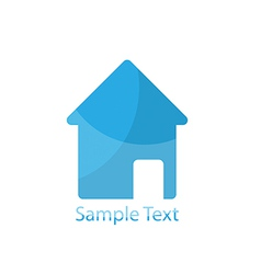 Home logo for vector