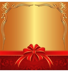 Golden background vector