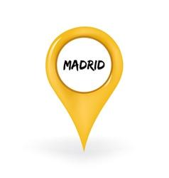 Location madrid vector