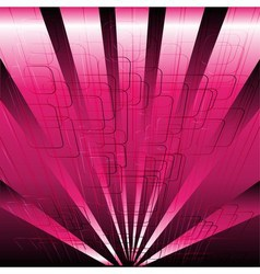 Abstract business or technology pink background ve vector