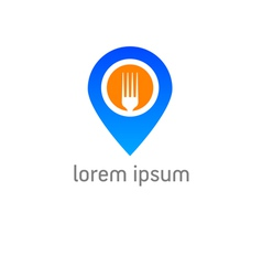 Restaurant check in vector