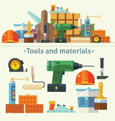 Tools and materials for the repair and constructio vector