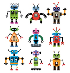 Set of robots vector