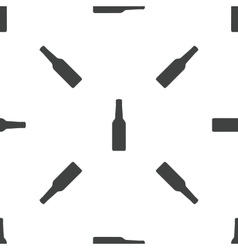Bottle pattern vector