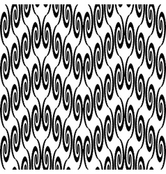 Design seamless zigzag decorative pattern vector