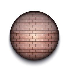 Brick pattern app icon vector