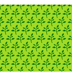 Spring sprout seamless pattern vector