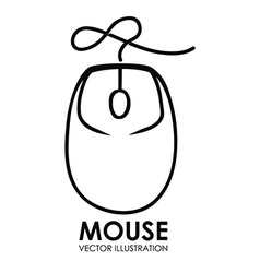 Mouse icon design eps10 graphic vector
