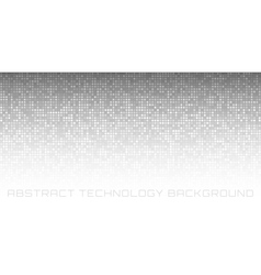 Abstract gray technology horizontal background vector
