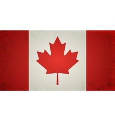 Grunge flags - canada vector