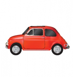 Mini car vector