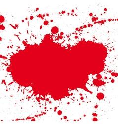 Drop ink splatter vector