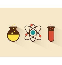 Atom design vector
