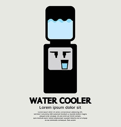 Water cooler graphic vector