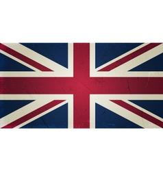 Grunge flags - england vector