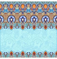 Ornamental floral folkloric background vector