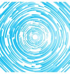 Modern circled spiral abstract background vector