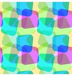 Seamless geometric wallpaper vector