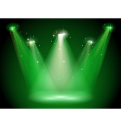 Green stage vector