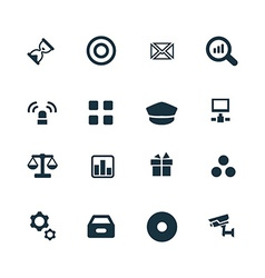 Bank icons set vector